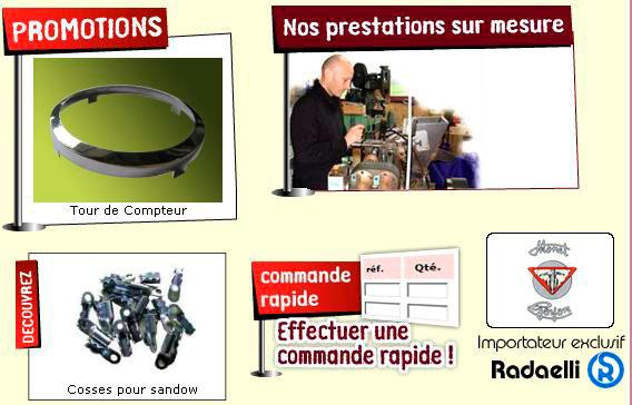 Macadam 2 roues catalogue