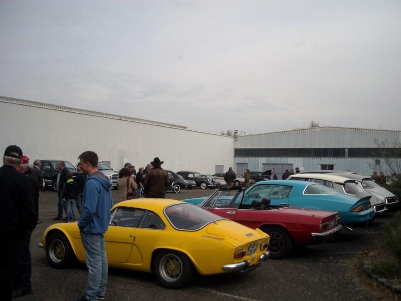 Liste des rassemblements et des expositions sur les voitures anciennes archivées