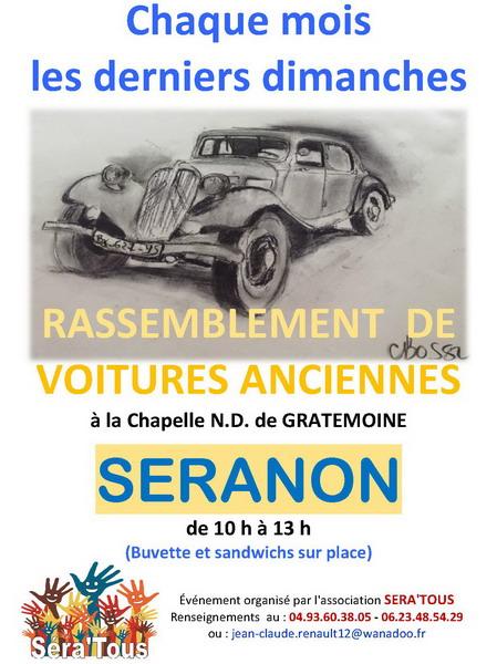 calendrier des evenements de véhicules anciens et de collection en
